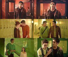 Teen Wolf Lydia has Aidan Danny has ethen Allison has Isaac and Scott has STILES