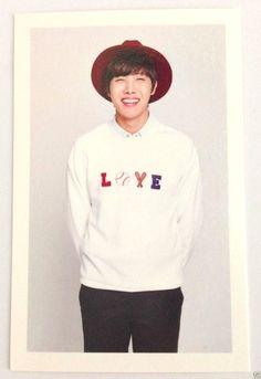 BTS Bangtan Boys Official Fan Club A.R.M.Y 2nd Special Goods Photo Card J-hope