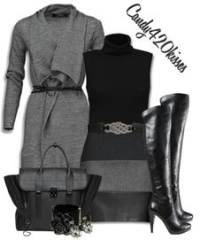Love the color black!