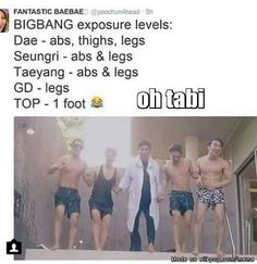 Oh TOP that Scandalous Foot! #BigBang #Kpop #WeLike2Party