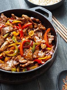 One pot wonder - lettvint gryterett - Mat På Bordet Asian Recipes, Beef Recipes, Cooking Recipes, Healthy Recipes, Great Recipes, Dinner Recipes, Spiced Beef, Flat Iron Steak, Good Food