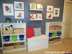Delightful Order: Toy Room Tour