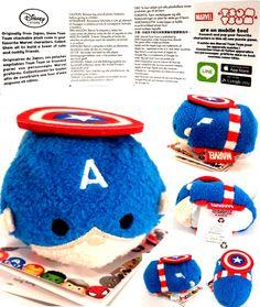 Tsum Tsum Marvel Captain America