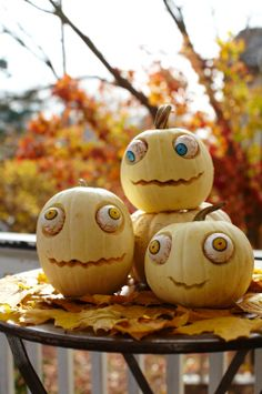 Pumpkin Face and Pumpkin Carving Ideas - Close To Home