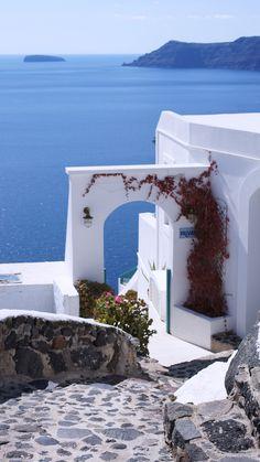 Door to blue, Oia, Santorini