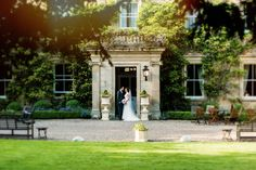 A handsomely proportioned Georgian mansion house, wisteria curling around its fine frontage. All around are carefully tended gardens and parkland – creating a picture-perfect backdrop for your most special day. Country House Wedding Venues, Luxury Wedding Venues, Georgian Mansion, Mansions Homes, Wisteria, Curling, Weddingideas, Countryside, Backdrops