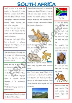 Read and learn about South Africa (I deleted my first version. South Africa Facts, South Africa Map, Geography For Kids, Geography Activities, History Projects, School Projects, Heritage Day South Africa, Africa Craft, Kids Word Search