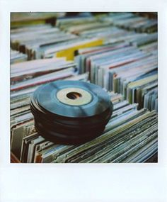 saturday is the record store day, polaroids and music