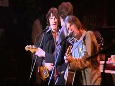 Neil Young at 'The Last Waltz' in 1976 - high on cocaine.
