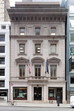 New York City Boroughs ~ Manhattan | Former Minnie E. Young Residence, 19 East 54th Street. Designed by Hiss & Weekes, 1899. Landmarked 2016.
