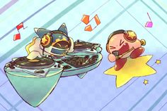 Magolor and Mike Kirby
