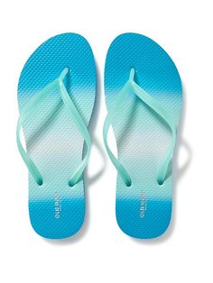 Patterned Flip-Flops for Women Product Image
