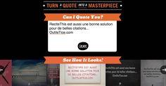 3 outils pour créer des images avec des citations - Les Outils Tice