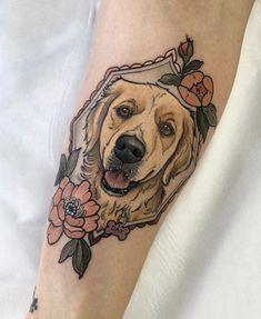 Boy Tattoos, Time Tattoos, Animal Tattoos, Body Art Tattoos, Portrait Tattoo Sleeve, Sleeve Tattoos, Unique Tattoos, Small Tattoos, Traditional Tattoo Dog