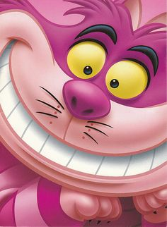 Cheshire Cat postcard | Flickr - Photo Sharing!