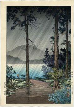 Thumbnail of Original Woodblock Print by Koitsu, Tsuchiya