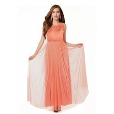 Styles Closet(tm)  New Latest Orange Desiner Collections Gown.