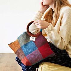 Couturier×AVOCA 鮮やか色のウールクロスで贅沢に仕立てるバッグ&ポーチの会|フェリシモ