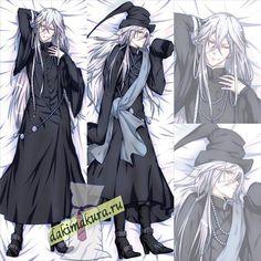 kuroshitsuji undertaker ile ilgili görsel sonucu