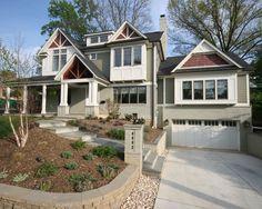 Exterior Craftsman Style Design,