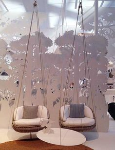 White Jungle Outdoor Rooms with Wicker Furniture, Outdoor Daybed and Hammock Chairs - - Outdoor Daybed, Outdoor Wicker Furniture, Outdoor Rooms, Home Furniture, Furniture Design, Outdoor Patios, Outdoor Kitchens, Furniture Storage, Rustic Furniture