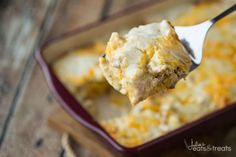 Biscuits and Gravy Overnight Breakfast Casserole Recipe!