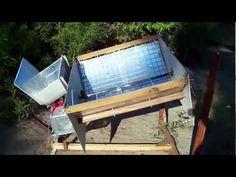No power needed sun tracking solar collector!