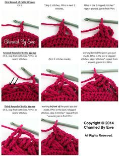 At the beginning of the year I came across what has now become my favorite crochet stitch, the Celtic Weave Stitch. It has also been referred to as the diagonal weave and interweave stitch. Whateve...