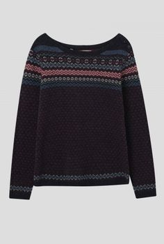 Top quality women's knitwear with natural wools. Comfort And Joy, Fair Isle Pattern, Fair Isle Knitting, Pullover, New Product, Knitwear, Jumper, Couture, My Style