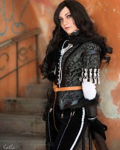 Yennefer Cosplay, Yennefer Of Vengerberg, Cosplay Tutorial, The Witcher, One Pic, Cosplay Costumes, Goth, Punk, Wild Hunt