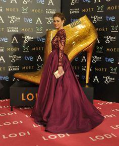 Las actrices españolas eligen los zapatos de la firma Lodi en los Premios Goya 2015
