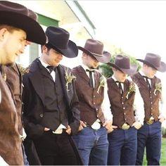 Image result for groom wedding cowboy suite