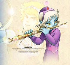ulysse 31 | Ulysse 31 - Dessins animés - TopKool Science Fiction, Fantasy Words, Japan Art, Gundam, Manga Anime, Sci Fi, Princess Zelda, Animation, Robots