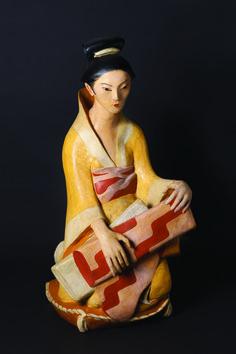 Otto Gutfreund - Japonka, 1922 - polychromovaná pálená hlína Frantisek Kupka, French Army, Romanticism, First World, World War, Palace, Clay, History, Disney Princess