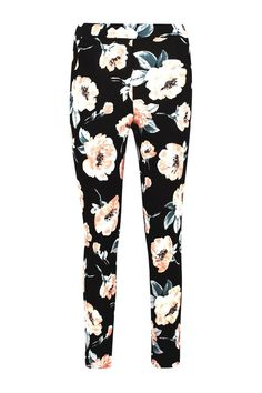 Amalia Large Floral Skinny Trouser