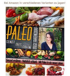 """Wir sind ganz stolz ein kleiner Teil dieses tollen Buches zu sein: paleo - Steinzeit meets Moderne...Kochbuch und Ratgeber in Einem! Die Grundlage für ein besseres Leben, den alles Geld der Welt hilft nichts, wenn es einem schlecht geht. Es richtet sich unter anderem an Menschen, welche täglich mit dem Thema """"Essen"""" zu kämpfen haben. Mehr hier: http://www.paleo-laedchen.de/produkt/paleo-steinzeit-meets-moderne/. Viel Spaß beim Lesen! Euer paleo lädchen - Team"""