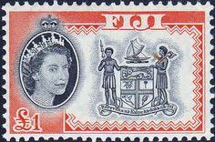 Fiji 1959 SG 305 Yaqona Ceremony Fine Mint SG 305 Scott 170 Other Fiji Stamps HERE