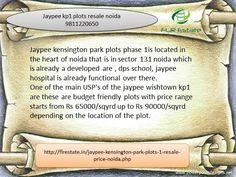 please call us 9811220750 jaypee Kensington park 1 plots wishtown Noida , plots in jaypee wishtown noida expressway, resale plots in jaypee noida