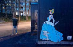 The Dark Side of Disney Princesses by Herr Nilsson
