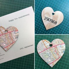 Can be personalised to suit your particular needs Os Maps, Fathers Day Cards, New Home Gifts, 50th Anniversary, Special Gifts, Wedding Gifts, Unique Gifts, Etsy Seller, Valentines
