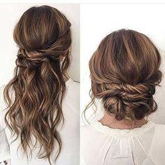 Einfache Hochsteckfrisuren für Lange Haare-7