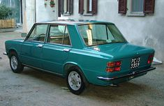 Autobianchi A111  2°S  (1970) 1960s Cars, Retro Cars, Vintage Cars, Fiat 128, Automobile, Fiat Cars, Fiat Abarth, Construction, Small Cars