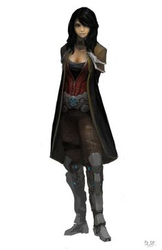 character concept 5 by *madspartan013 on deviantART