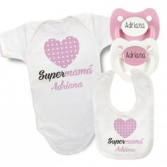 Pack Body Personalizado SuperMamá