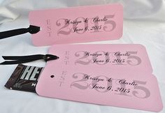 Wedding Favors,  Personalized Candy Bar Wrappers, Pink Wedding Favors, 2015 Favors, by abbey and izzie designs