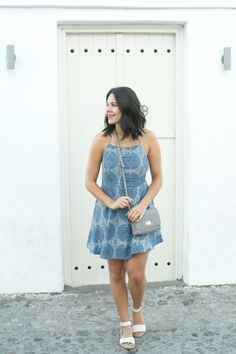 revolve blue dress, santorini outfit ideas, greece outfit ideas - My Style Vita @mystylevita