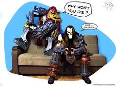 Darksiders War VS Death by MEG-Cosplay.deviantart.com on @deviantART