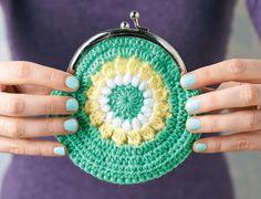 Crochet Purses Granny square circle purse/ FREE CROCHET pattern/ very pretty Purse Patterns Free, Coin Purse Pattern, Crochet Purse Patterns, Free Pattern, Crochet Wallet, Crochet Coin Purse, Crochet Purses, Crochet Bags, Granny Square Häkelanleitung