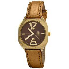 Bedrock Watch Brown, $18, now featured on Fab.