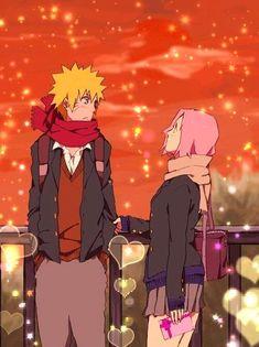 Sakura meeting Naruto on outside/NaruSaku Shippuden LoVe
